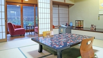 *客室一例/落ち着いた純和風のお部屋です。のんびりとお寛ぎください。