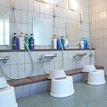 *男湯洗い場