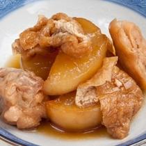 (夕食)大根と鶏肉の煮物