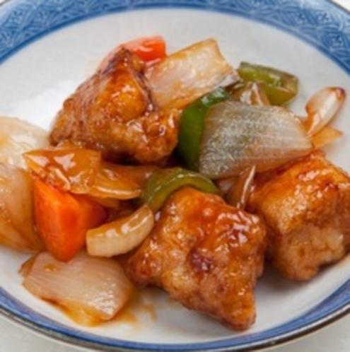 (夕食)酢豚