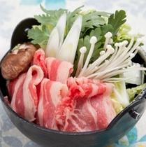 (夕食)すき焼き鍋