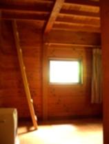 ロフトへの階段・・・和みの家