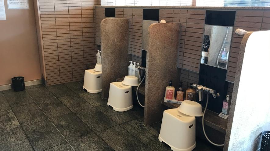 14階スパ シャワー(洗い場)