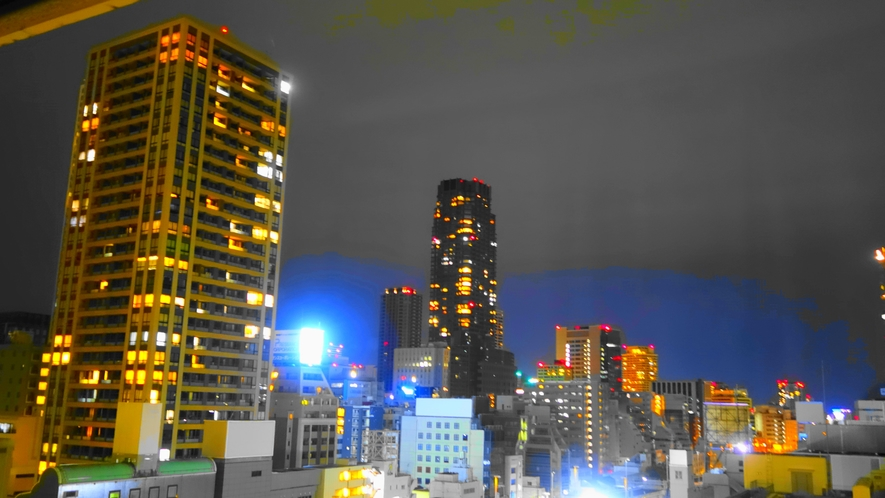 ホテル眺望(北西)