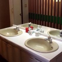 洗面 / The bath room area
