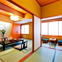 【次の間付和室】(和室10畳+和室4.5畳) ユニバーサルデザイン