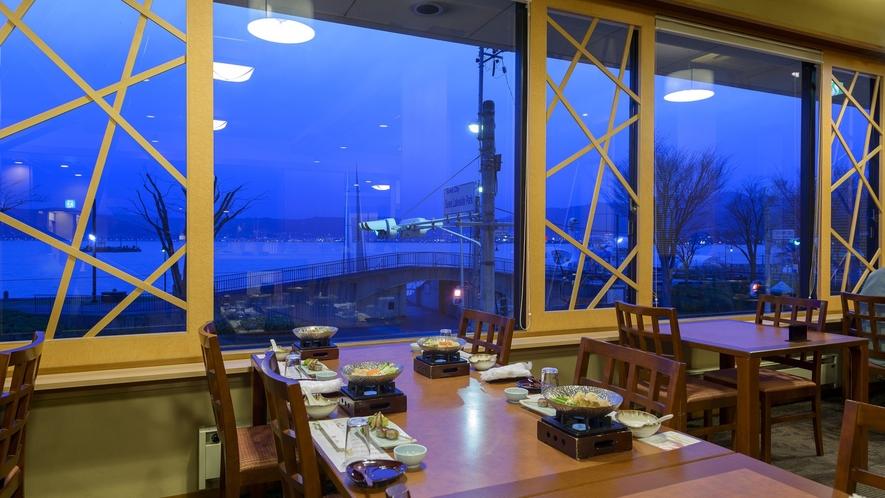 レストラン「妙菜庵(みょうさいあん)」③ 夕景
