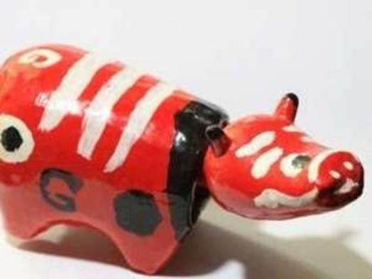 【10月限定!】お子様大歓迎♪会津地方の郷土玩具「赤べこ」絵付け体験付プラン♪1泊2食付き