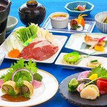晩秋のご夕食(一例)