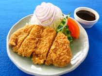 20周年記念 特別料理(会津ソースカツ)