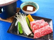 20周年記念 別注料理「福島牛陶板焼」