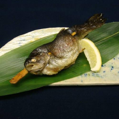 【夕食一例】魚塩焼き