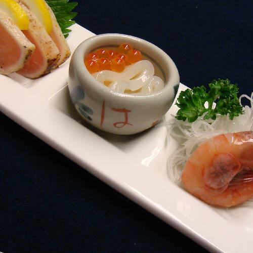 【夕食一例】刺身盛り