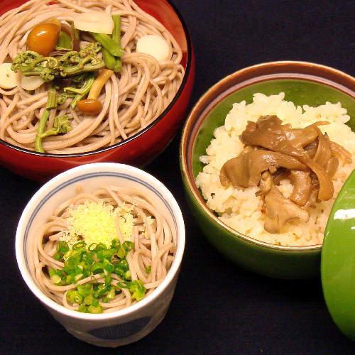 【夕食一例】郷土色豊かな食事