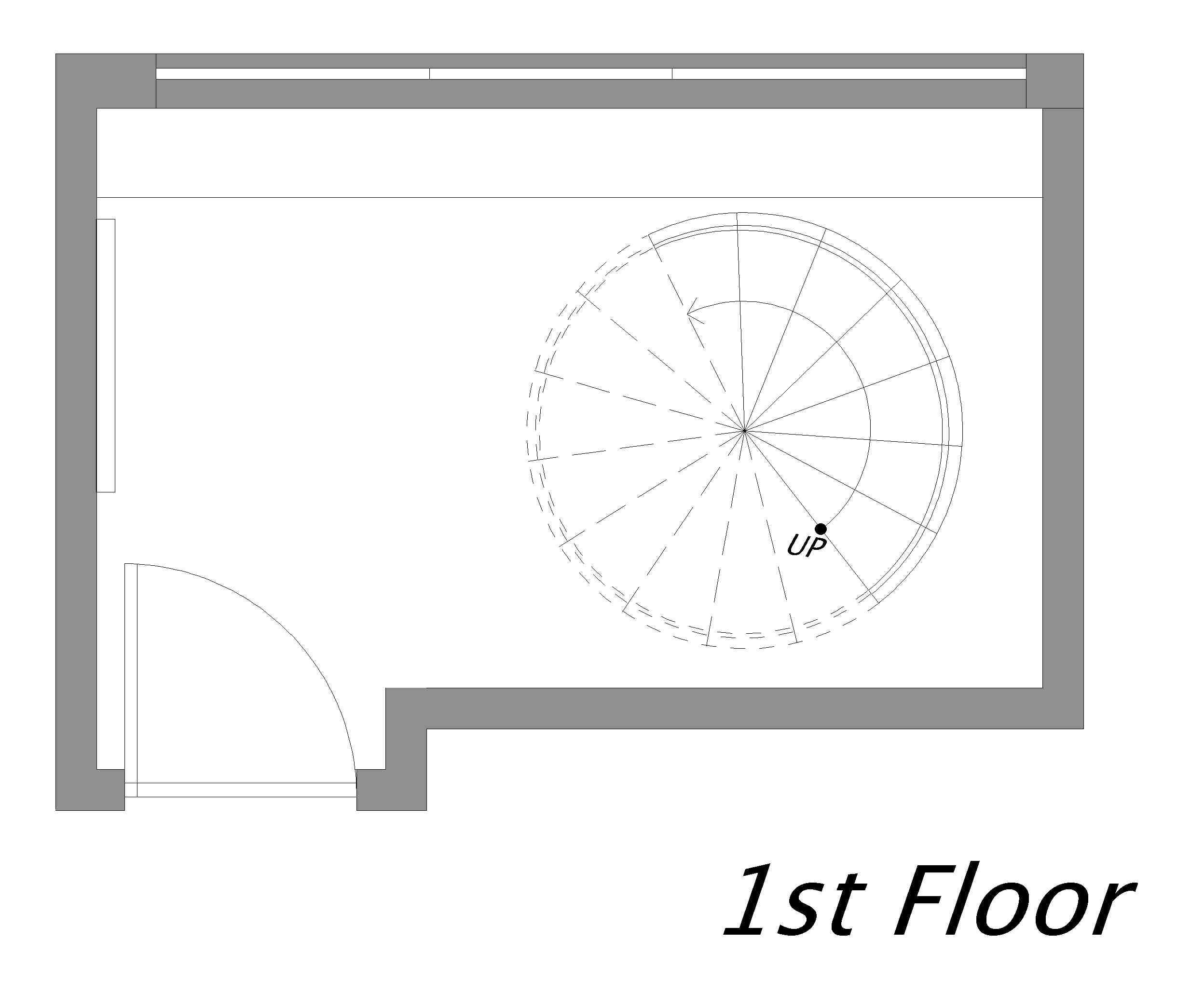 プレミアスイートルーム 1階