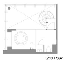 ペントハウススイートルーム 2階