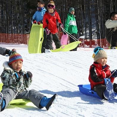 【ファミリー雪遊び☆プラン】スノープレイランド入場とレンタルウェアがセット♪食事は人気のバイキング