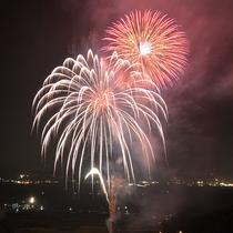 9月は打ち上げ花火イベントを開催