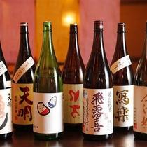 福島の美味しい日本酒を中心としたイメージ画像