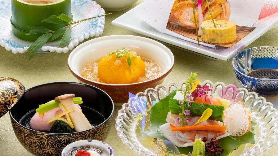 【2食付】城山ガーデンズ水簾「季節の会席」宿泊プラン
