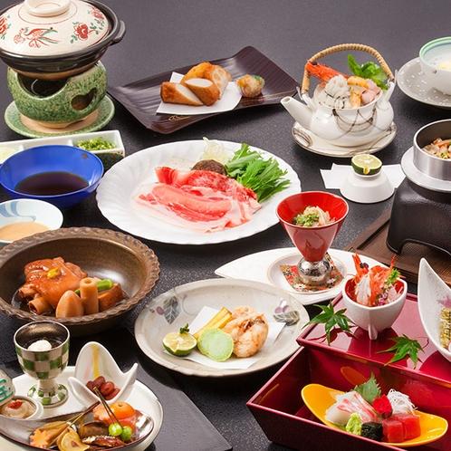 【割烹 楽水】「伝統の薩摩会席」*イメージ