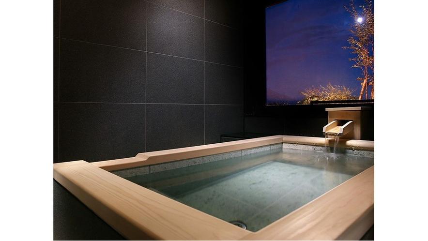 ジャパニーズガーデンスイート 客室温泉