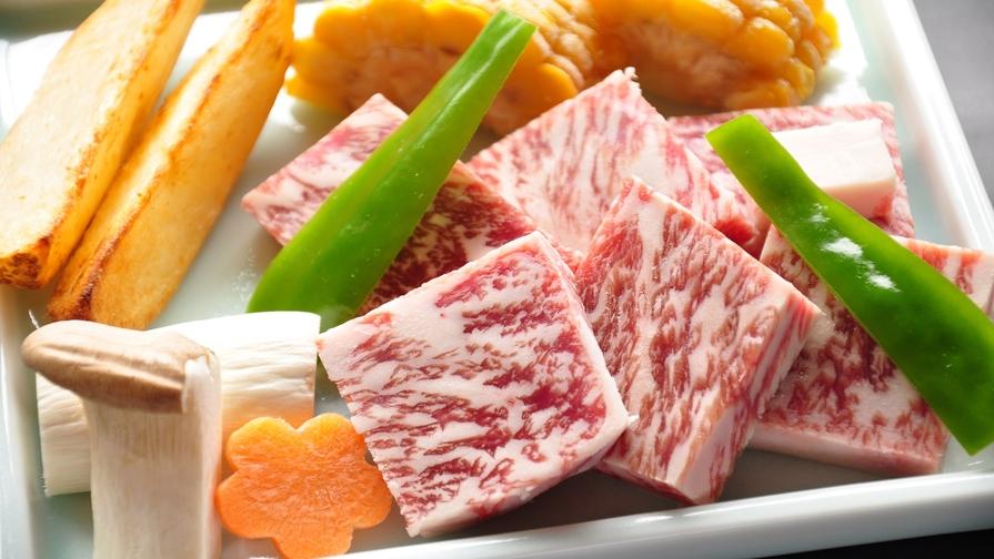 旨味がギュッと「あまごの昆布じめ」&有名和牛に匹敵!?「徳島県産黒毛和牛鉄板焼き」付グルメプラン