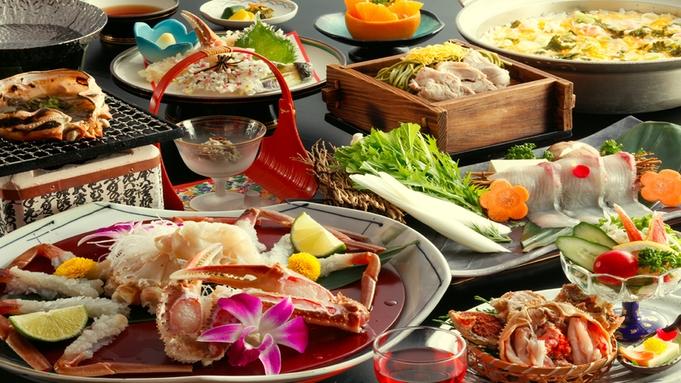 【冬の上級グルメ◆ブランド蟹-松-】 炭火甲羅焼きに華咲く蟹刺し。—松葉ガニが魅せる、至福の味わい—