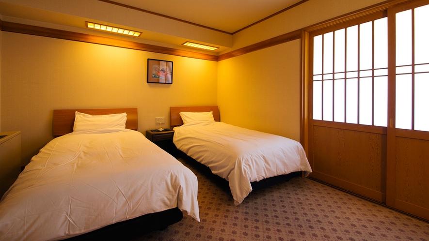 【露天風呂付特別室◇和洋室】[ベッドルーム]