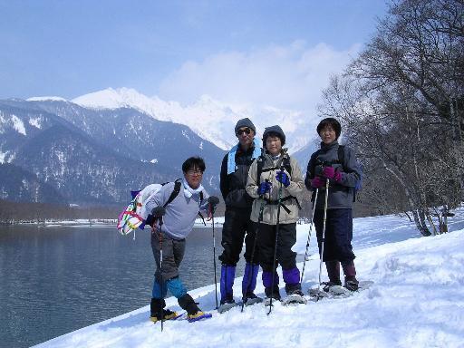 冬の上高地ツアー