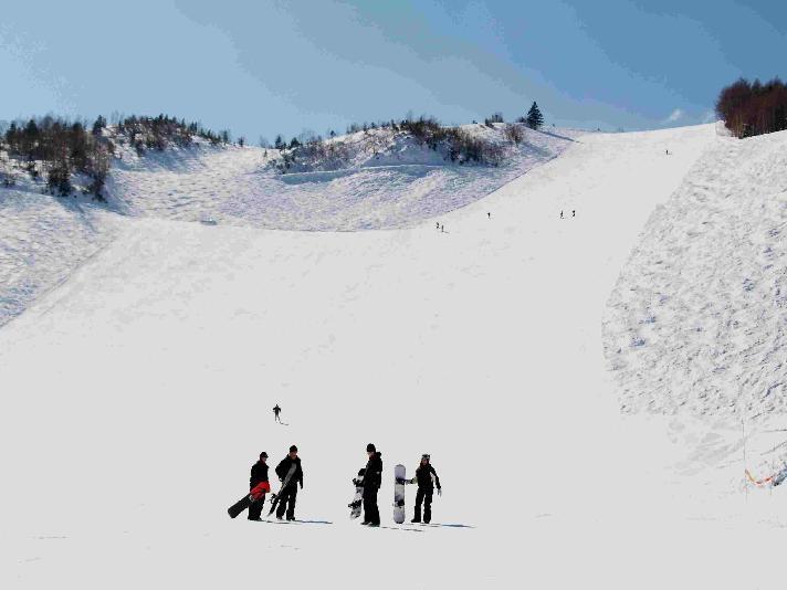 冬 乗鞍高原温泉スキー場