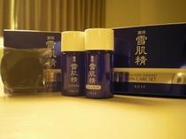 雪肌精(化粧水、乳液、洗顔石鹸のセットです)