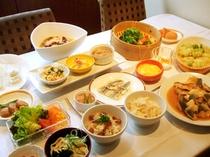 筍の炊き込みご飯、ロールキャベツ、サヨリの塩焼き、他