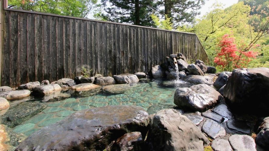 滝見露天風呂(女湯)ご入浴時間:7時から23時まで※温泉ではございません
