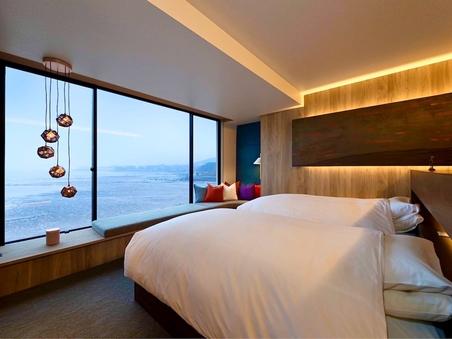 <Luxuryスイート>オーシャンパノラマ/海に浮ぶ展望風呂
