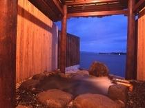 貸切露天風呂【岩】