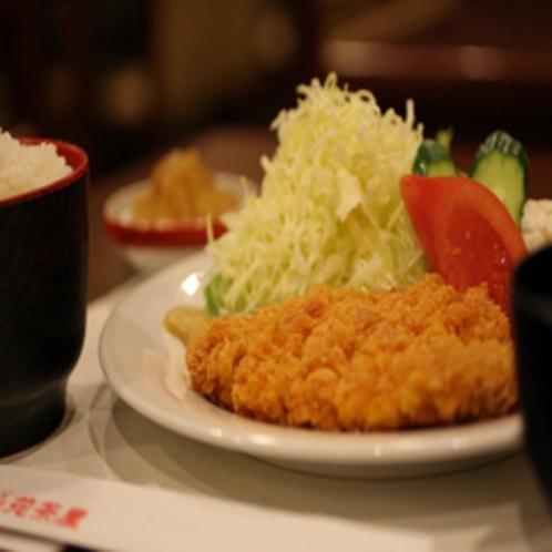 とんかつ御膳★夕食付プランでは6種類の中からお選びいただけます。