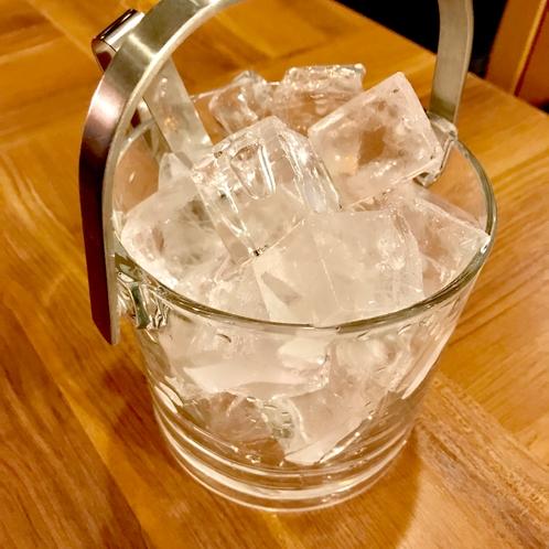 氷の無料サービス*フロントにて24時間承ります