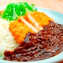 ルートイン名物!上田カツカリー♪ 1F花茶屋にてお召し上がりくださいませ。
