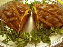 ウエリントン風牛フィレ肉のブリオッシュ包み
