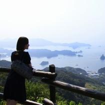 九十九島の景色