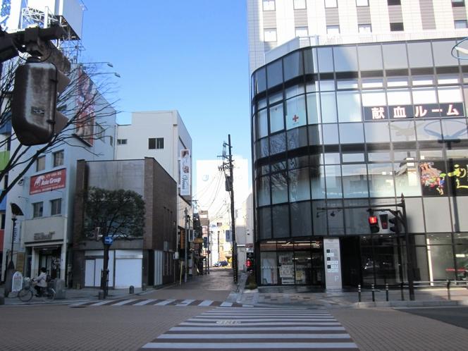 ホテルまでの景色3