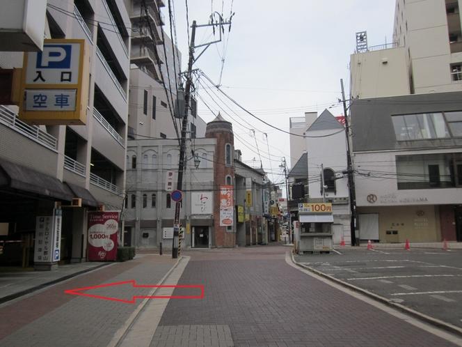 ホテルまでの景色6