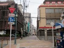 ホテルまでの景色5