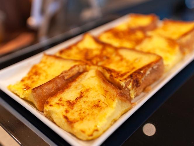 【フレンチトースト】優しい甘さが特徴です