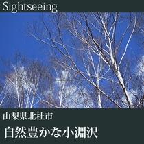 ▼自然風景-自然豊かな小淵沢-J