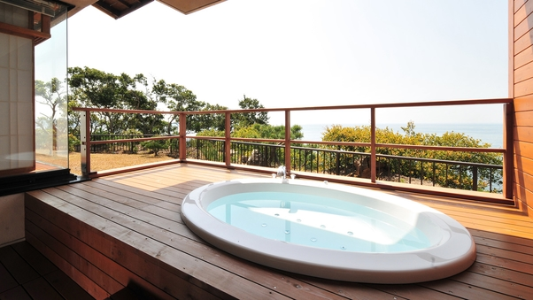 【ジャグジー露天風呂付和洋特別室60平米】お部屋で楽しむ贅沢
