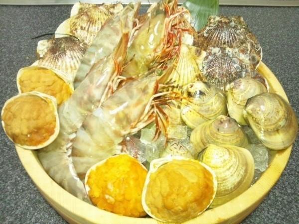 海鮮焼テンコ盛り