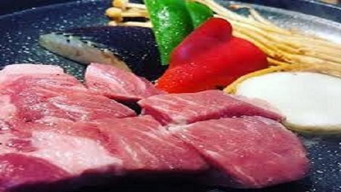【PT3倍★高級ブランド★常陸牛vs美名豚・食べ比べプラン】朝夕2食完全個室でお召し上がり頂けます▲