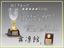 宿泊客人数・満足度・クチコミランキング・ネットアクセス・グループ内BLV受賞